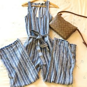 NWOT. Anthropologie Cloth & Stone Jumpsuit.